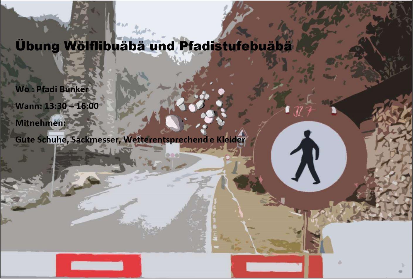 Infos Stufenübung